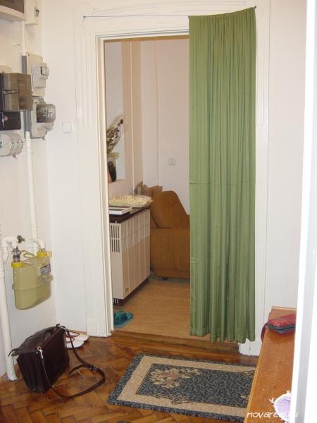 Budapest VIII. kerület Baross utcai eladó garzon-előszoba