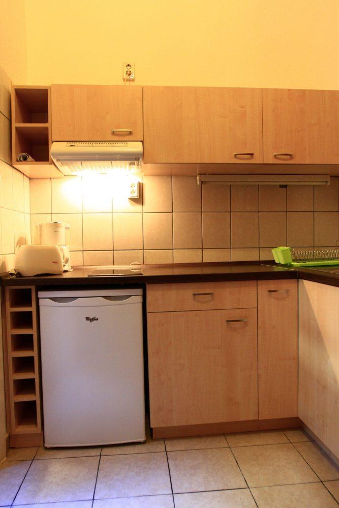 Budapest Körúti Apartmanok Budapest Szállás 1-4 Személy Részére, konyha