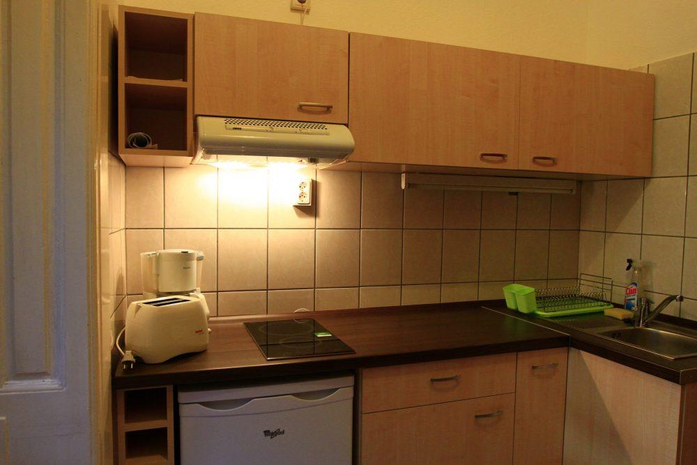 Budapest Körúti Apartmanok Budapest Szállás 1-4 Személy Részére , konyha