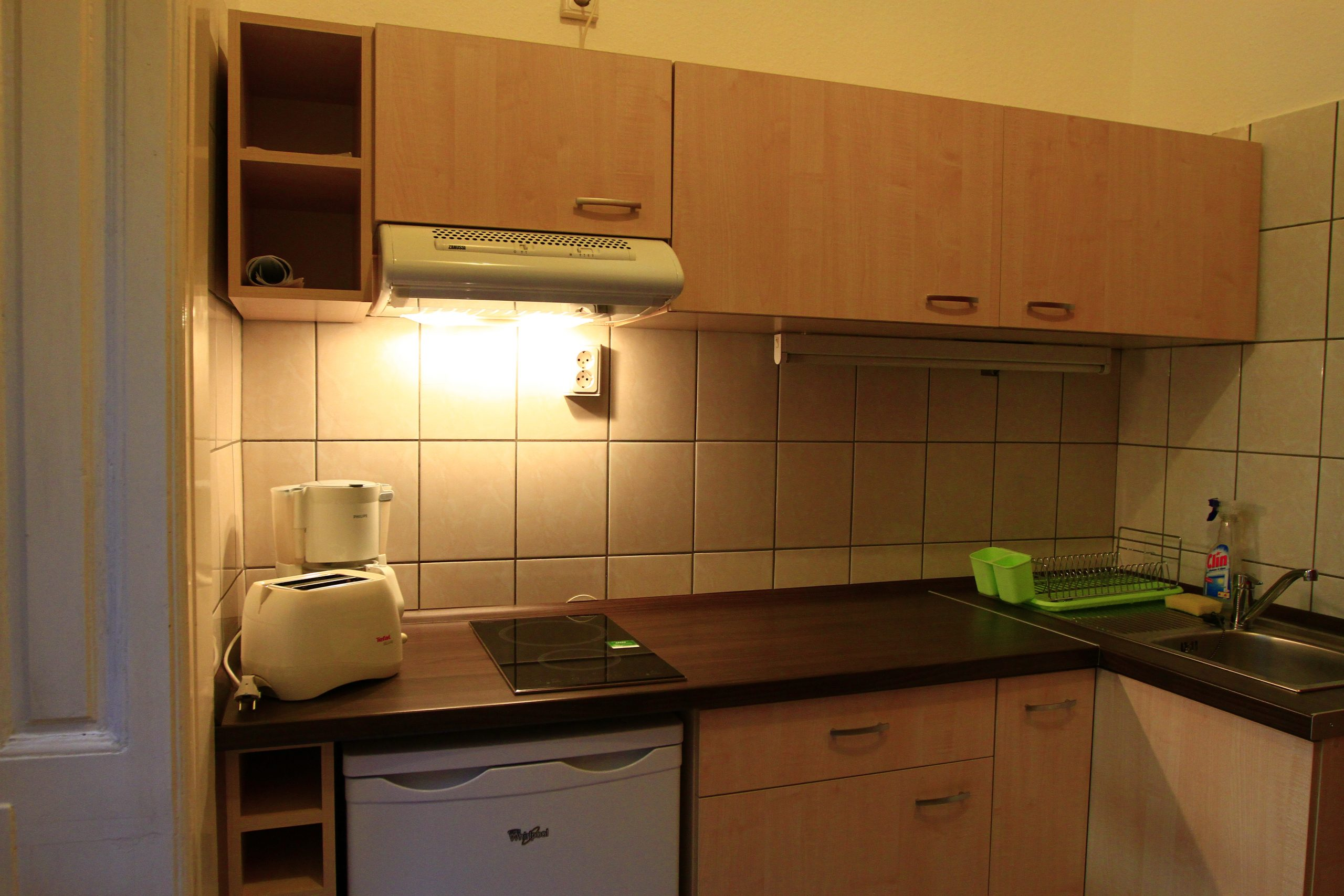 RingAvenue Aparments in Budapest for 1-4 persons (Aparment no. 3), kitchen