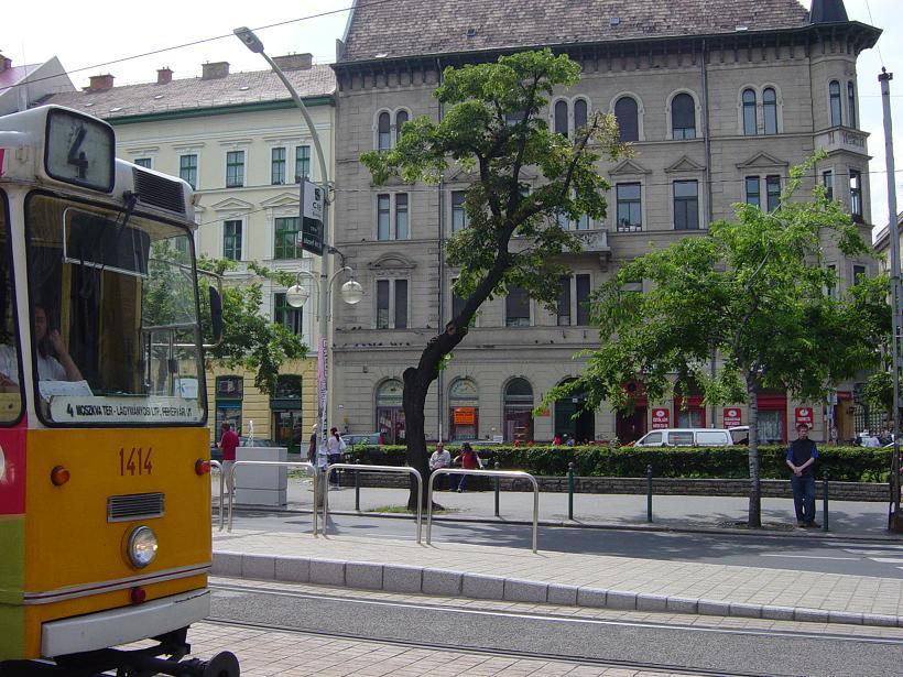 Szállás Budapesten József Kőrút Főhomlokzat-Park