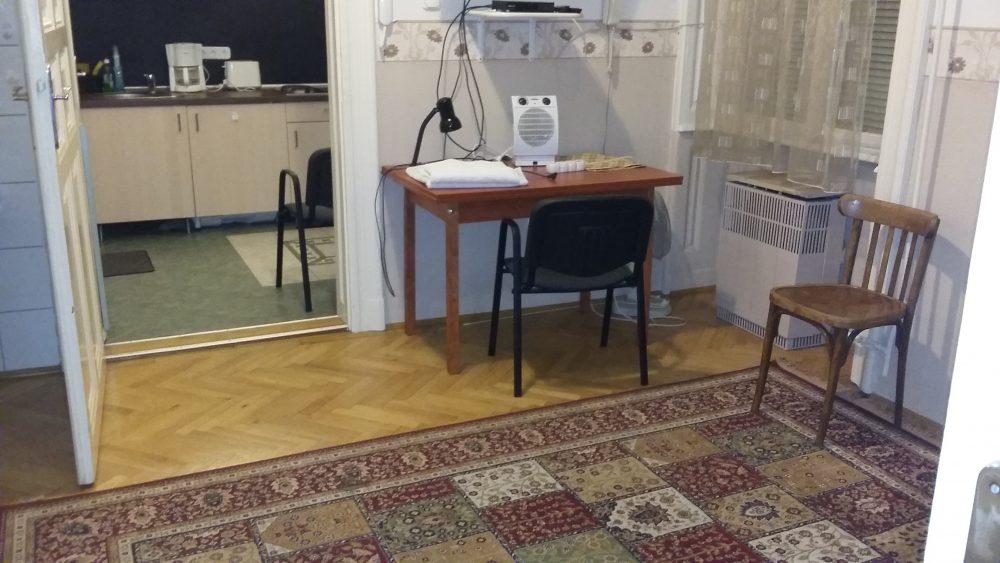 Budapestiszallas.com nappali József Kőrút 47